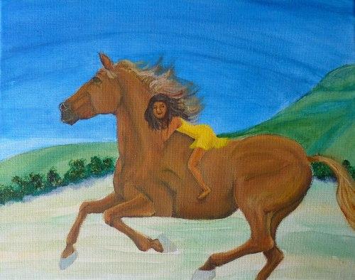 M. Mair, Dreams of Horses, 2, Original Art