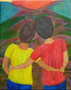 Margaret Mair, Friendship, Original Art
