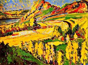 Emily Carr, Autumn in France, 1911