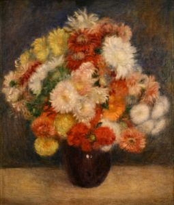 Auguste Renoir, Bouquet of Chrysanthemums
