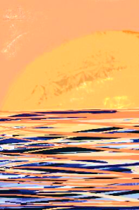 Margaret Mair, Sunrise/Sunset, Digital Image